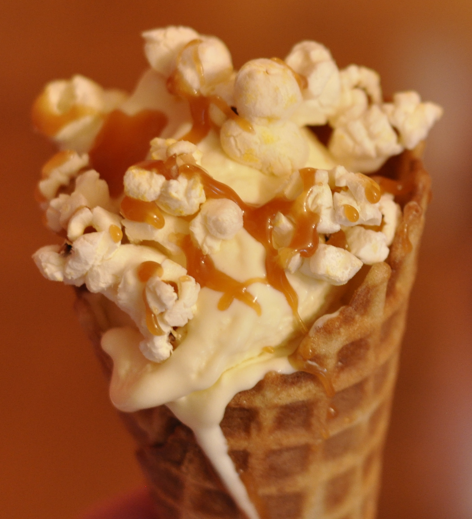 popcorn togarashi popcorn caramel popcorn ice cream sundae crafting ...