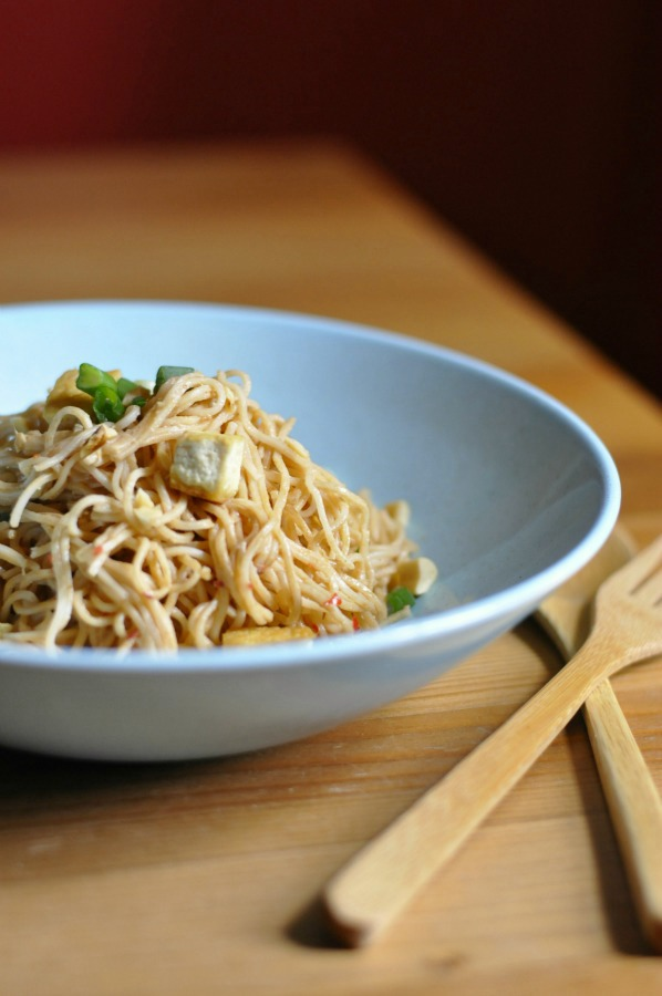chinese noodles with tofu 2
