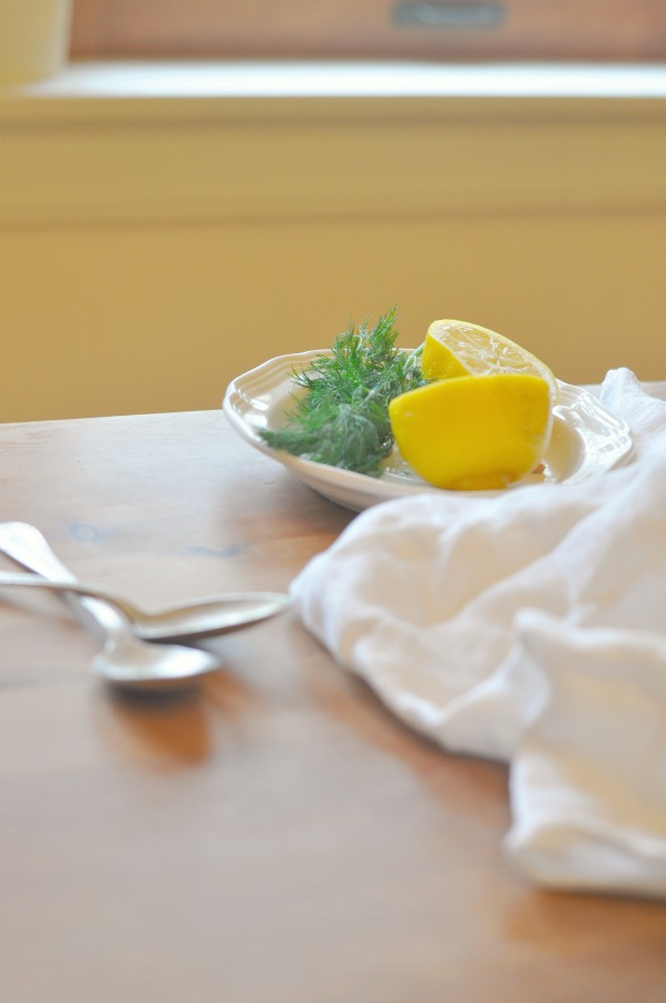 lemon and dill